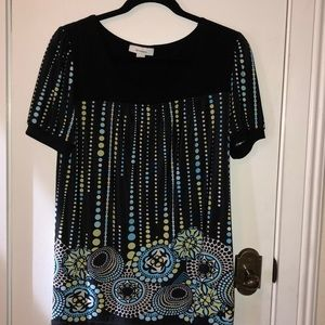 Dressbarn size Lg short sleeved tunic